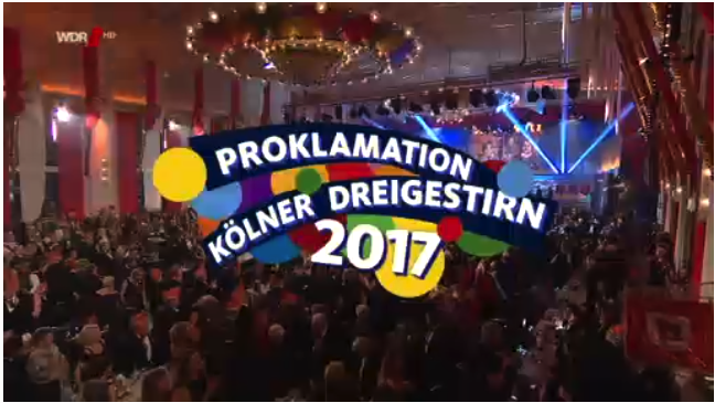 Prinzenproklamation 2017